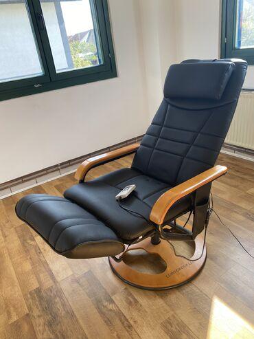 Na prodaju - Srbija: Na prodaju fotelja za masazu Lupo group llc, u odlicnom stanju, kozna