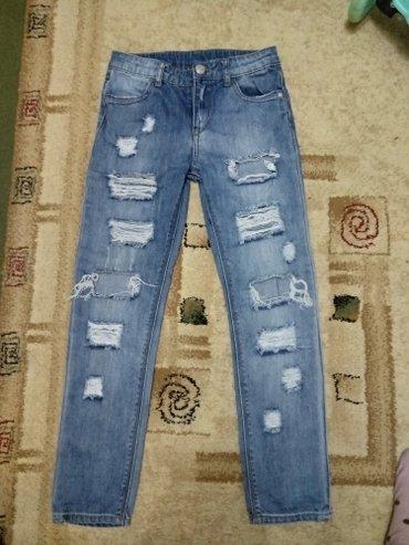 Детские джинсы, модные и рваные. в Бишкек