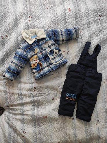 детский костюм для мальчика в Кыргызстан: Детский костюм на мальчика. Примерно на возраст 1 год 3 мес. Носили не