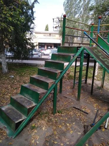 Ремонт, реставрация детских горок, в Бишкек