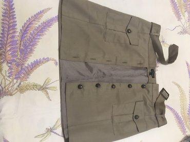 Женская юбка, европа, бренд топшоп, размер 46- 48, цвет хаки, новая. в Покровка