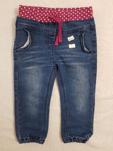 Детские джинсы на девочку (Германия) на рост 86 см. Состояние