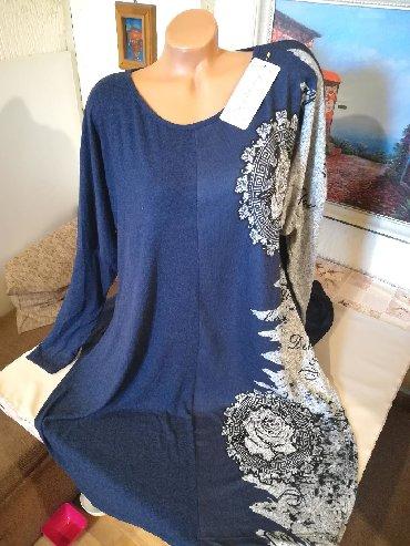 Paket obodi majice i jedne kosulje lepo odrzane - Srbija: Nova zenska tunika sa sarom i ukrasima za punije Miss Nommy. Turska
