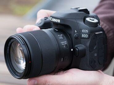 сенсорный фотоаппарат в Азербайджан: Canon 80D Fotoparat iki ilin fotoparatıdır ancaq şəxsi istifadəyə