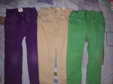 Pantalonice...ocuvane..vel 92-98...sve su uz nogicu...cena za sve - Sremska Mitrovica