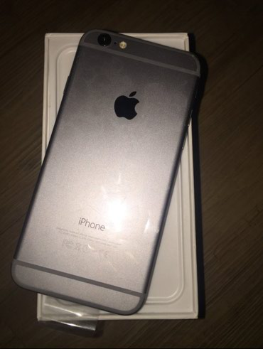 IPhone 6 новый 16 gb Space Grey в Бишкек