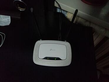 modem router tp link в Кыргызстан: Wi-Fi Router Tp-linkСостояние отличное.Коробка документы есть.Для