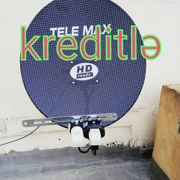 Bakı şəhərində Krosna antena peyk antena kredit