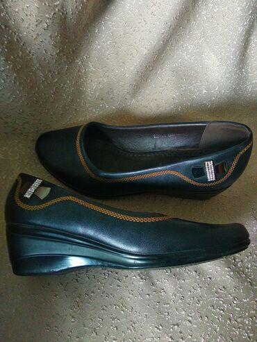 Туфли кожзам в хорошем состоянии. от брэнда Renda. Размер 38. Удобная