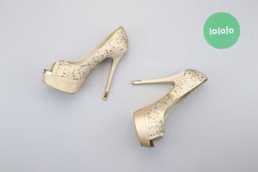 Женская обувь - Украина: Жіночі босоніжки зі стразами на підборах Basic Editions, р. 36   Довжи