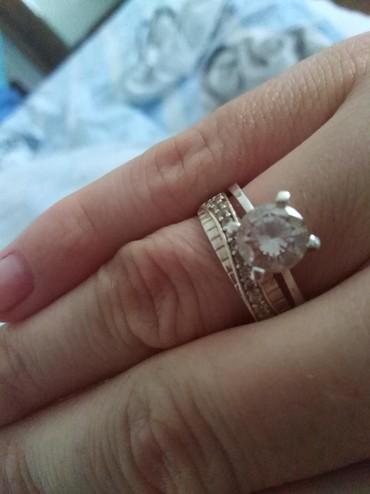 Srebrni prsten. Dva u jednom - Paracin