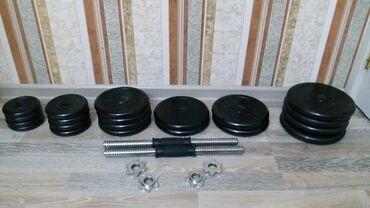 yeni 2 otaqlı mənzil almaq - Azərbaycan: Cütü 32kg qantel( 16 - 16 ) 2 cüt 0.75 kg 2 cüt 1 kg 2 cüt 1.25 kg  1