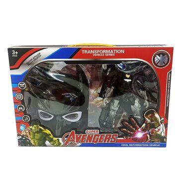 Трансформер Бетмен игрушка.Двойной подарок ребенку обеспечит