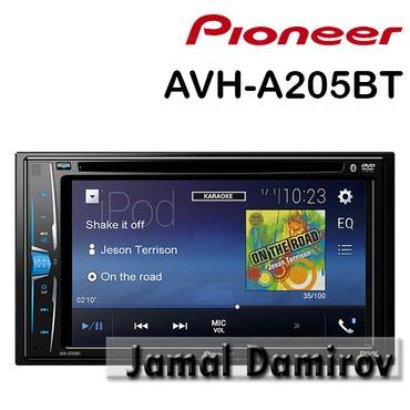 monitor pioneer - Azərbaycan: Pioneer AVH-A205BT DVD-monitor