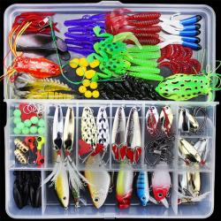 141Pcs Lures Multifunctional All Swimming Layers False Baits for Sea σε Athens