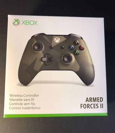 Bakı şəhərində Xbox One Armed Forces ll Edition Wireless Controller