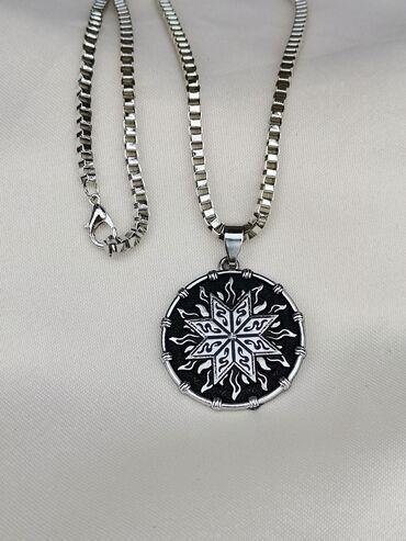 - Azərbaycan: Parlayan günəş simvolu və qulaqcıq boyunbağılar#necklace* Qısa ipli*