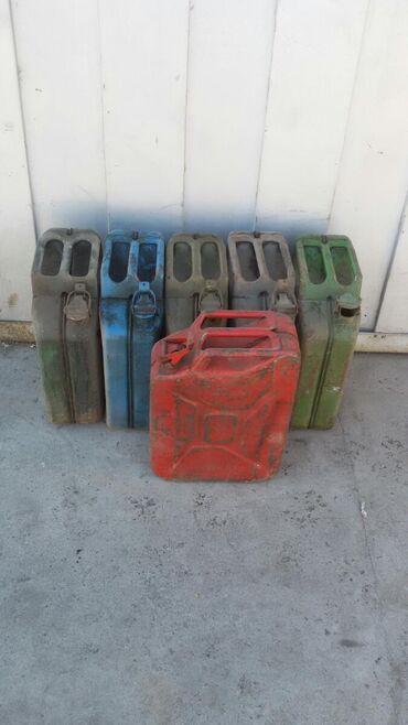 бутыли 20 литров в Кыргызстан: Металлические железные канистры под гсм.20 литров