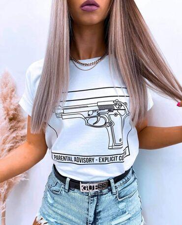 Ženske majice - Novo - Sivac: Komad 1150 2 komada 1500 Pamuk elastin