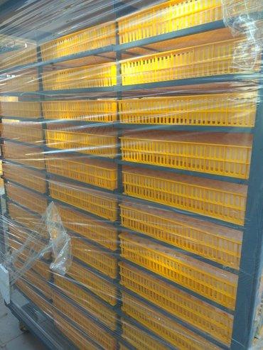 инкубатор на 6200 яиц. Промышленный 2 в одном. Свыводными ящиками.( в  в Бишкек