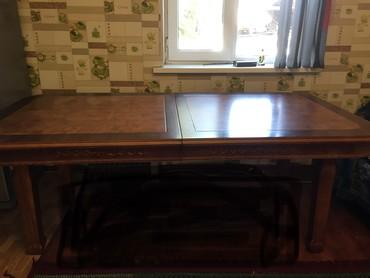 Срочно!Красивый, большой стол. Размер в Бишкек