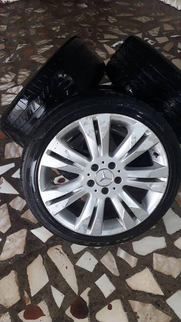 шина 18 в Кыргызстан: Продается очень стильные диски со шинами для Mercedes E-class R18