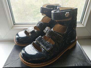 ортопедические ботинки для детей в Кыргызстан: Ортопедические ботинки на девочку