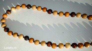 Drvena ogrlica bez ostecenja duzina 39cm - Cuprija - slika 2