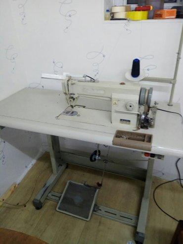 прямострочная машинка тупикал работает хорошо  в Бишкек