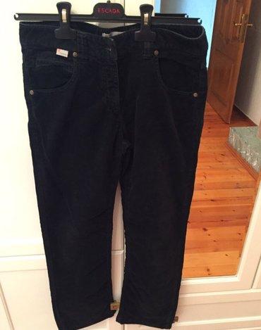 женские брюки кюлоты в Азербайджан: Вельветовые женские брюки, missoni