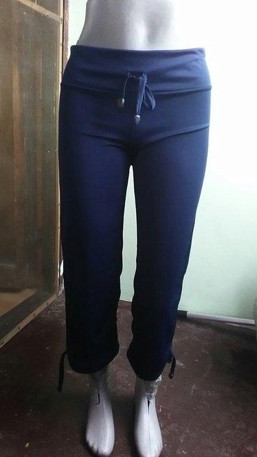 Trenerkica,tricetvrt pantalone,tanke extra za leto.Teget boja S i M - Zrenjanin