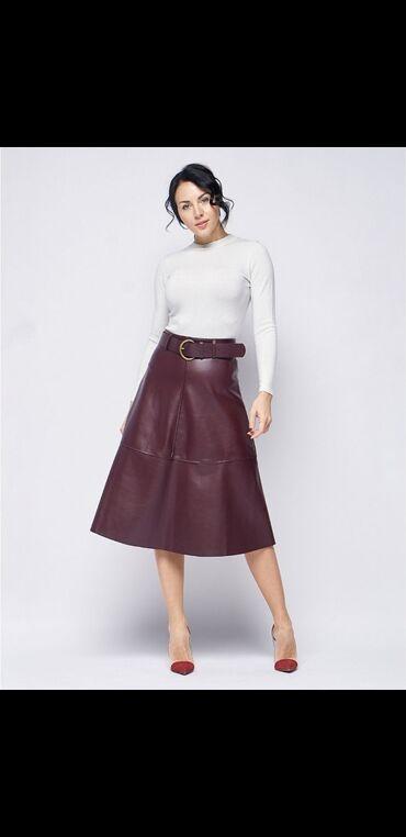 Продаю юбку из экокожи,на высокой посадке,в идеальном состоянии,носили
