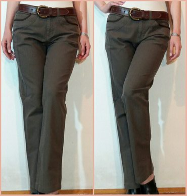 ❤ Original,Mexx maslinasto zelene pantalone od punijeg keper platna - Belgrade
