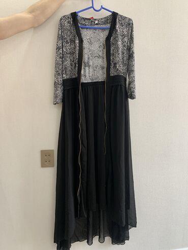 Новое платье!!! На замочке сидит идеально самопошив размеры уточняйте