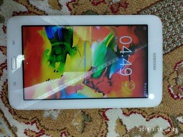 Планшет Samsung. 8гб цвет белый. Пользывались 3 года модель Таb 3 lite в Лебединовка