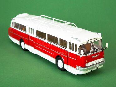 МОДЕЛЬ автобуса ИКАРУС-66МАСШТАБ 1:43 МОДИМИОМодель запакована, фото