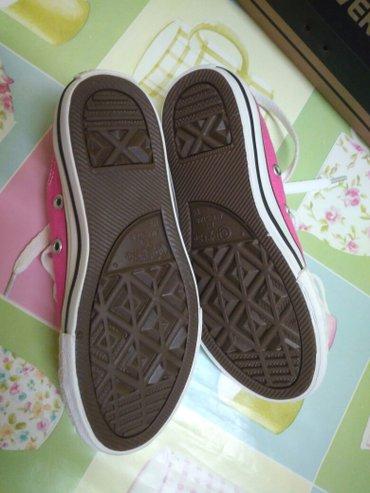 Παιδικά παπούτσια για κορίτσι χρώμα φούξια  converse all star νούμερο  σε Σέρρες - εικόνες 6