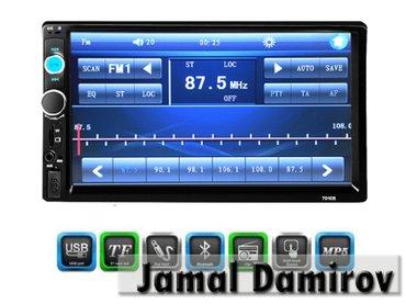 Bakı şəhərində Monitor usb, sd-card, bluetooth, av - in. Hər cür avtomobil