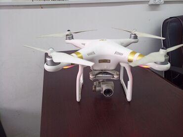 Квадрокоптеры - Кыргызстан: Дрон Сатылат продается Dji phantom 3 SE 4KСостояние отличное Абалы