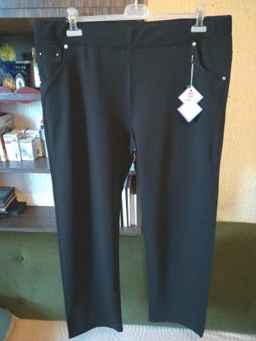 Pantalone m tamno braon imaju dva zakopcavanja napred - Srbija: Nove zenske pantalone za punije tommy life. Turske. Odlicne zenske