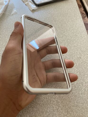 батарейка-на-айфон-7 в Кыргызстан: Магнитный чехол на iphone 7+/8+