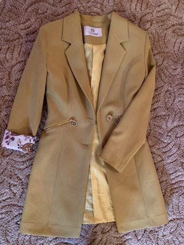 Весенний ,легкий ,удлиненный пиджак 36 размера в Бишкек