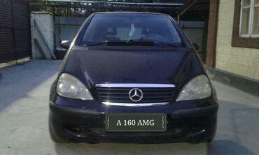 Mercedes-Benz A-class 1.6 л. 2001 | 131789 км