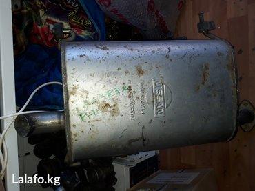 Продаю заднюю бочку глушителя на в Бишкек