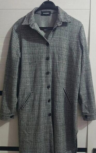Теплая рубашка, турецкая почти новая 400 сом