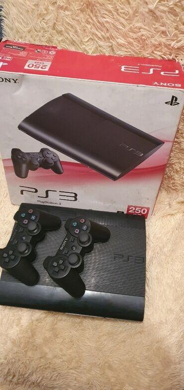 дома в Кыргызстан: Продаю ps3 super slim 250gb прошитую(hen4.86) [multiman] .Отличное