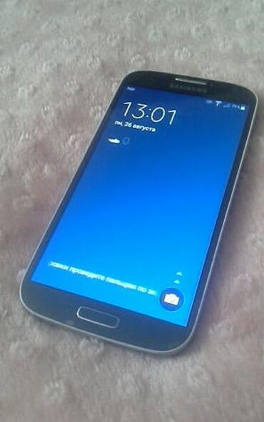 Samsung galaxy s4 mini - Азербайджан: На запчасти Samsung I9500 Galaxy S4 16 ГБ Черный
