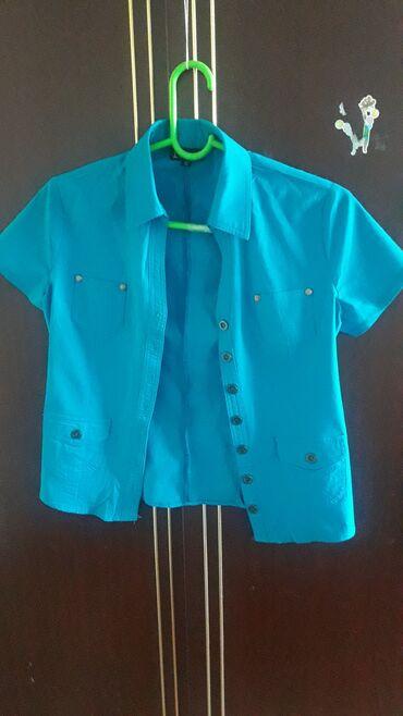 Б/У женская рубашка 40-42разм-150сом