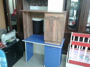 Sumqayıt şəhərində yazi stolu zakaz yigilir istenilen olcude ve dizayinda. adres sumqayit