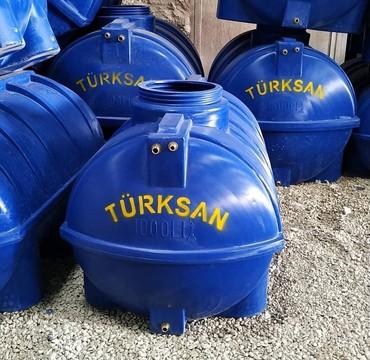 Все для дома и сада в Азербайджан: Türksan şirkətinin poletilendən hazırlanmış su çənləri. Oval formalı